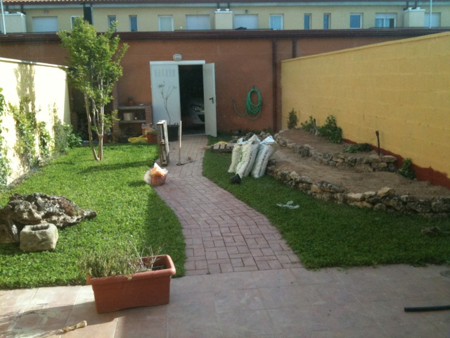 Ayuda con dise o jard n peque o 33 m2 provincia de l rida - Disenos de pequenos jardines ...