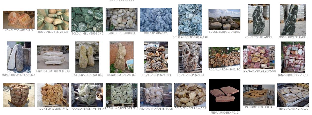 Venta de triturados piedra para jard n y decoraci n fotos for Piedra gris para jardin