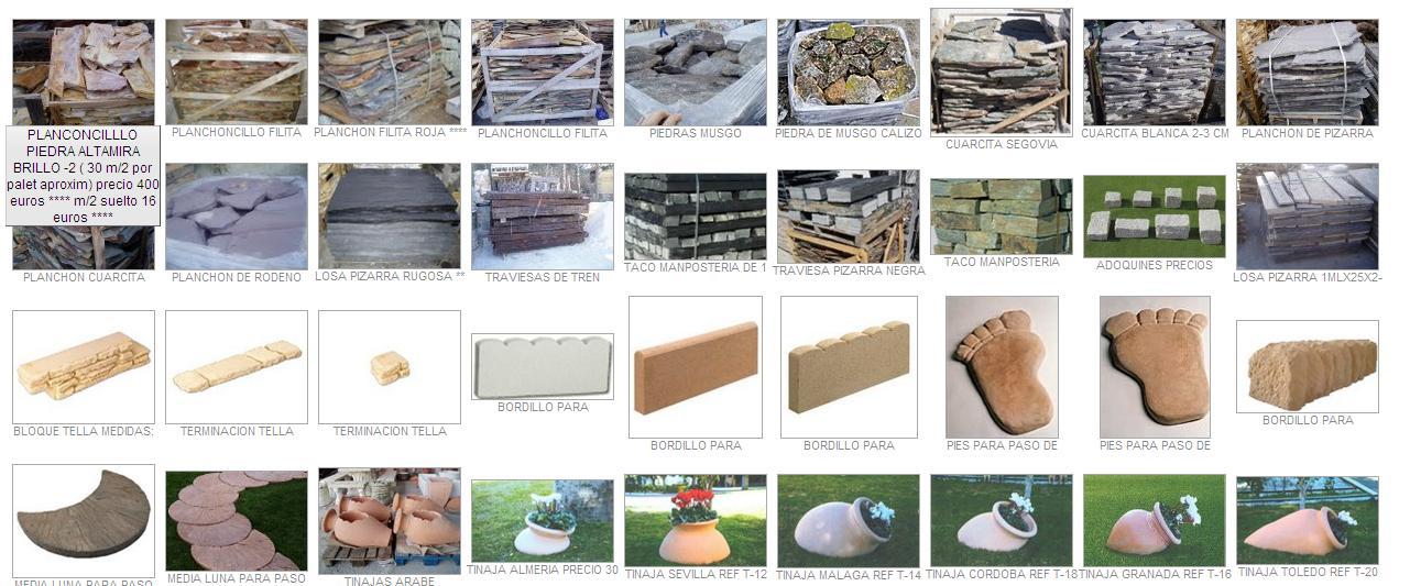 Venta de triturados piedra para jard n y decoraci n fotos - Elementos decorativos para jardin ...